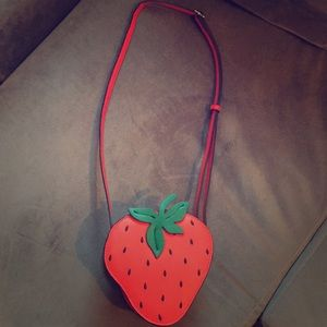 Forever 21 Strawberry Purse